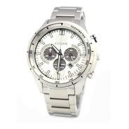 Reloj Citizen Ca4120-50a Crono Acero Ecodrive Promo