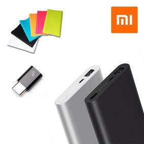 Xiaomi Power Bank 2 10000 Mah Adaptador Tipo C Y Funda Msi