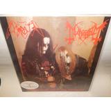 Mayhem Lp Vinil Acetato Morbid Tribute Black Emperors Dist0
