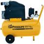 Compressor De Ar 24 Litros Hobby 6 Pés Pressure Moto Press