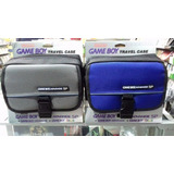 Petaca Game Boy Advance Sp Color Azul Y Gris
