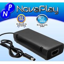Fonte Original Microsoft Xbox 360 Super Slim Nova 110v