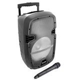 Velikka Bafles Amplificados Usb Sd Bluetooth 9pul Vkk-110l G