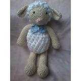 Juguetes Tejidos.oveja Tejida En Crochet. 100% Artesanal