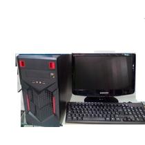 Computadora Am3 2.8 Ghz/ 2 Gb Dd 250/500 Gb -monitor 15
