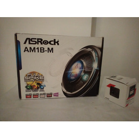 Combo Tarjeta Madre Am1b-m Con Procesador 2650 Dualcore