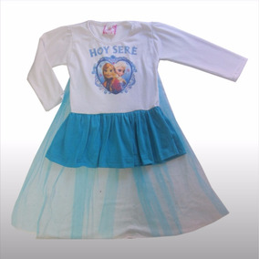 Lote 11 Vestido Disfraz Frozen Ana Descuento Niña Capa Nuevo