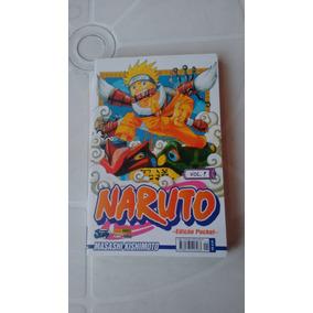Naruto Vol 1 - Edição Pocket - Editora Panini - 2010