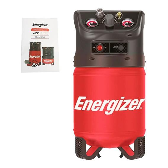 Compresor Inflador 12 Lts Energizer Ezc12d 100psi Moto Auto
