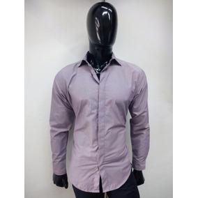 Camisa Para Caballero Lila