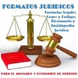 Formatos Juridicos Documentos Legales Libros Codigos Leyes