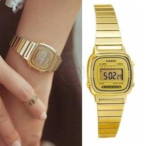 cdf0b4f0031 Relogio Casio Prata La670 - Relógio Masculino no Mercado Livre Brasil