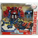 Transformers Optimus Prime Y Hi Test - Giro Didáctico