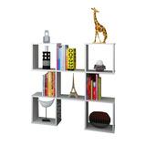 Mueble Cubos Organizador Bajo Desing Moderno R-44028