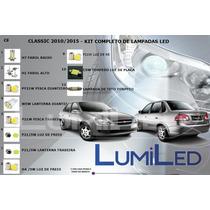 Kit Completo Lampadas Led - Chevrolet Classic 2010/2015