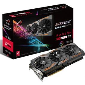 Placa De Vídeo Rx 480 8gb Asus Strix Oc Edition