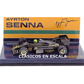 Lotus Honda 97t - 1985 #12 Ayrton Senna - F1 Minichamps 1/43