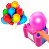 Inflador Bomba Elétrica Automática Compressor Bexigas Balões