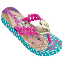 Sandália Ipanema Barbie Pop Glam Az/ros Tam 29/30 - Grendene