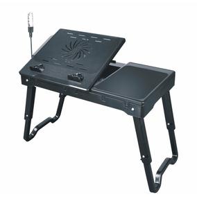 Notebook Table Com Hub Usb + Iluminação + Cooler