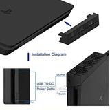 Ps4 Slim Enfriamiento Ventilador Externa Enfriador Consola