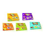 Promoção Kit Quebra-cabeça Estimulo Educativo Pedagógico