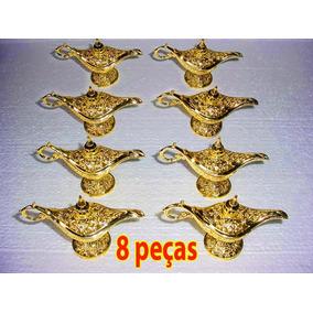 8 Lâmpadasdouradas -tipo Aladim Tesouro Pirata, Decoração