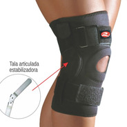 Joelheira Articulada Com Tala Ortopedica Realtex
