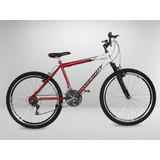 Bicicleta Aro 26 Com Amortecedor 21 Marchas Várias Cores S/j