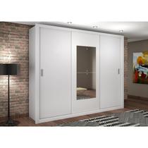 Guarda Roupa Rufato Veneza Premium 3 Portas Branco