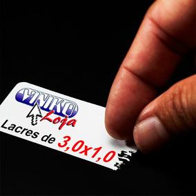 250 Lacre Casca Ovo 3x1 Garantia Segurança Destrutível