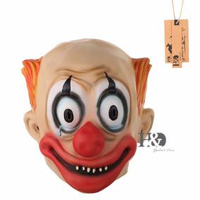 Máscara Palhaço Assassino Terror Assustador Látex Engraçado