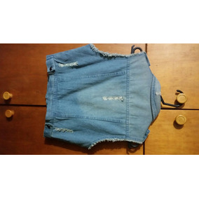 Chaleco Jeans Dama , Melrose Talle M. Nuevo .