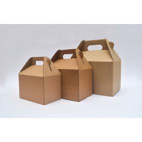 Lonchera Boxlunch Carton Micro Mesas Dulces Postres Grande