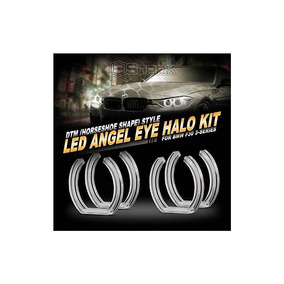 Bmw Crystal Angel Eyes [no Factory Hid] Retrofit (4 Pieces)