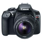 Camara Canon Reflex Rebel T6 Kit Correa Y Lente 18-55