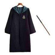 Disfraz Slytherin Draco Malfoy Capa Y Varita