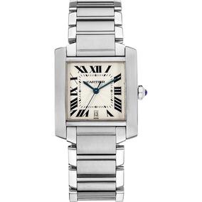 dd9765e7e7af Rgl Reloj Nuevo Cartier Tank Francaise Acero Cuarzo Dama - Relojes ...