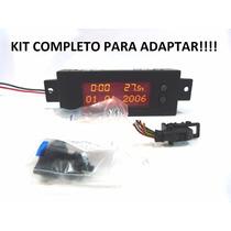 Astra Relogio Hora Temperatura Tid Kit Completo Adaptar
