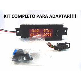 Astra Montana Relogio Hora Temperatura Kit Completo Adaptar