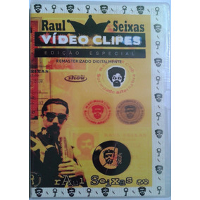 Dvd Raul Seixas Vídeo Clipes (original E Lacrado)