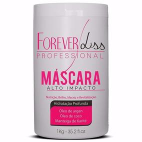 Forever Liss Máscara De Hidratação Alto Impacto 1kg