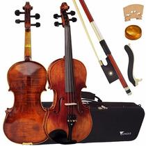 Violino Eagle Vk 644 + Case, Breu, Arco E Espaleira