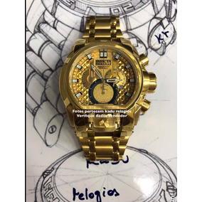 Relógio Invicta Bolt Zeus Magnum Dourado C Maleta25210 Kadu