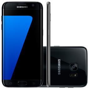 Samsung Galaxy S7 Edge G935f Preto - 4g, 4gb Ram, Android 6
