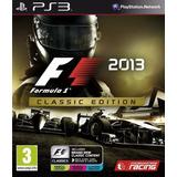 F1 2013 Classic Edition Ps3 Digital Entrega En El Dia