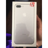 Iphone 7 Plus Silver 128gb Caja Sellada Libre De Fabrica