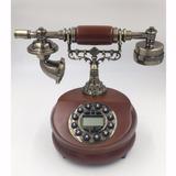 Aparelho Telefone De Mesa Retrô Decorativo Vintage- H5768
