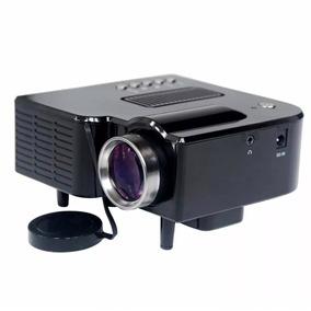 Mini Projetor Portátil Led Lcd H-808 Hdmi Usb Sd Vga