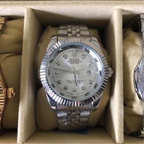 e2ed88651b1 Relógio Elgin Masc. 4 Diamantes - Relógios no Mercado Livre Brasil